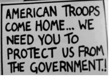 american troops protect us