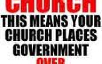 No 501-C-3 Church Can Be a Church of God