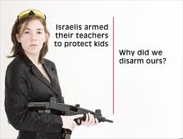 armed israeli teachers