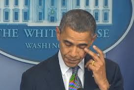 Obama's Fake Tears
