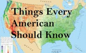 What Is The One Thing Americans Need To Know?