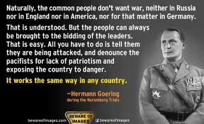 false flag goering