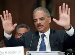 Eric Holder, also held in contempt of Congress for refusing to come clean in his other scandal, Fast and Furious which resulted in the death of Border Patrol agent, Brian Terry.