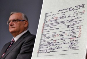 obama declared fraud by arpaio