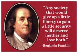 ben franklin give up liberty for security