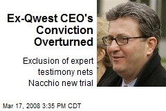 nacchio conviction overturned