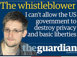 Snowden, a marked man.