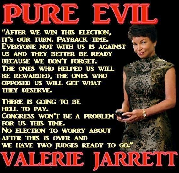 Sr. White House Adviser and Chicago Slum Lord Queen, Valerie Jarrett
