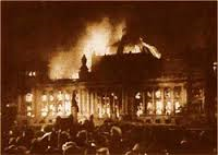 The Reichstag fire could become the Republican National Convention.