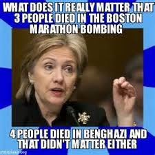 hillary it does not matter