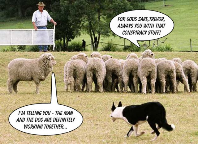 Some of the sheep might actually wake up when they lose their bank account.
