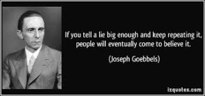 Confirmation bias is the same in any tyrannical form of government.
