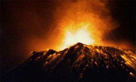 yellowstone volcano explosion