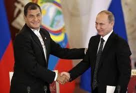 Putin and Correa
