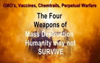 The Four Weapons of Mass Destruction-Humanity May Not Survive