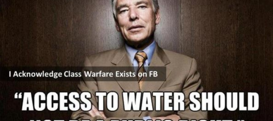 How Water Will Be Used to Subjugate America