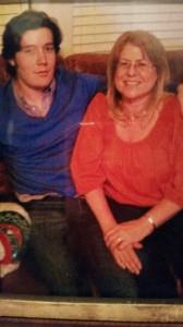 Harry and his mom Sandra
