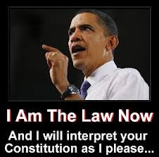 obama ia m the law here