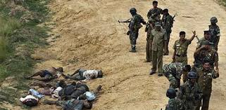 Rwandan murdering perpetrators.