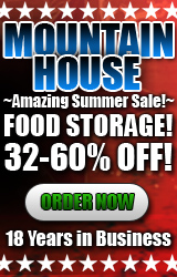 Mountain House Food Storage Ad