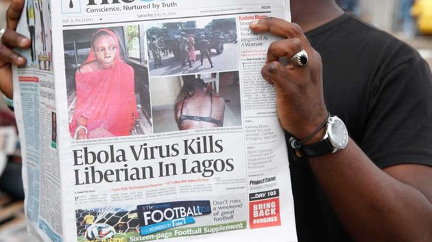 houston news 13 article on ebola