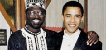Malick and his half brother, the President