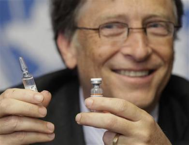 Bill Gates, the king of vaccines.