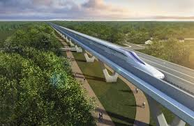 The Hunger Games promote the high speed bullet train connecting the districts, through vast uninhabited biodiversity zones. Billions are being spent today in the pursuit of this Agenda 21 futuristic from of travel reserved solely for the elite.