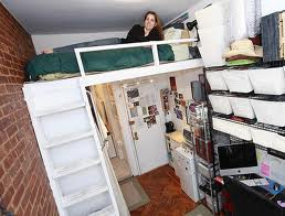 Don't pack too much, your future living quarters are being downsized.