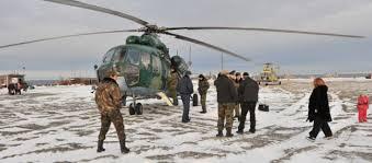 North Pole ryska soldater