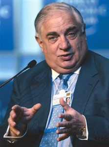 Peter Sutherland an insider's insider. Head of the UN Migration Council. He will soon be your next landlord.