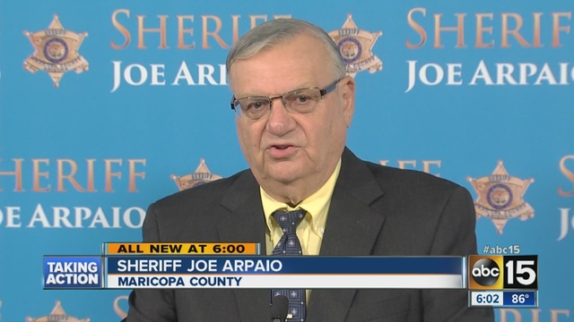 joe arpaio ebola quarantine