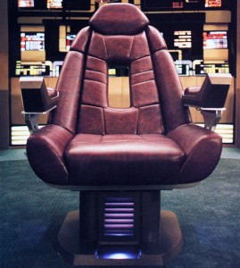 Who will be the next to occupy the Captain's chair?