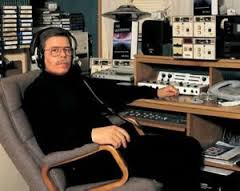 Art Bell, the all-time King of night time radio sitting in the Captain's chair.