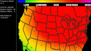 The movement of the present Jet Stream will impact the weather for 250 million Americans.
