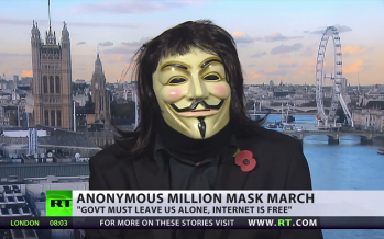 Anonymous to RT: 'Internet has power to bring down regimes'
