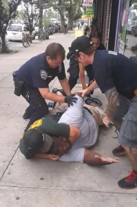 The man who filmed the murder of Eric Garner is facing charges.