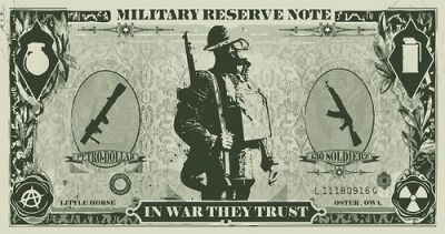 "The ""military reserve note"" is how the BRICS like to refer to the dollar and it is their main target for assassination."