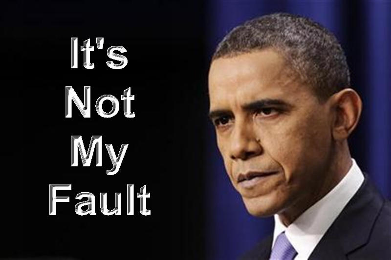 obama fault