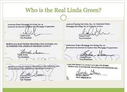 Who is the real Linda Green?