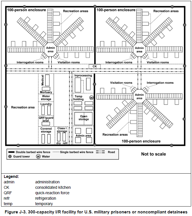 FM 3-39.4 ARMY MAP OF FEMA CAMP DESIGN AND LAYOUT