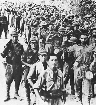 Bataan Death March.