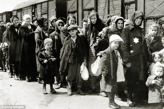 death camp nazi trains