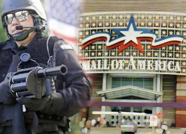 When the DoD runs out of FEMA camp space, there are always the malls.