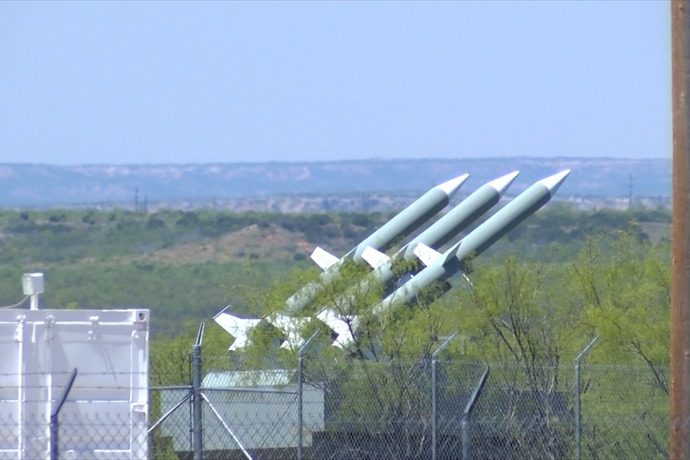 Theseare high resolution photos of the SAM missiles, that many say do not exist. These missiles are located 45 miles southeast of Lubbock, TX and were originally photographed by Texas resident, Travis Kuenstler.  These photos will soon be back in the news at The Common Sense Show, as we have just learned that this represents World War III preparations.