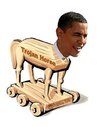 Obama, the great maintainer of America's Trojan Horses