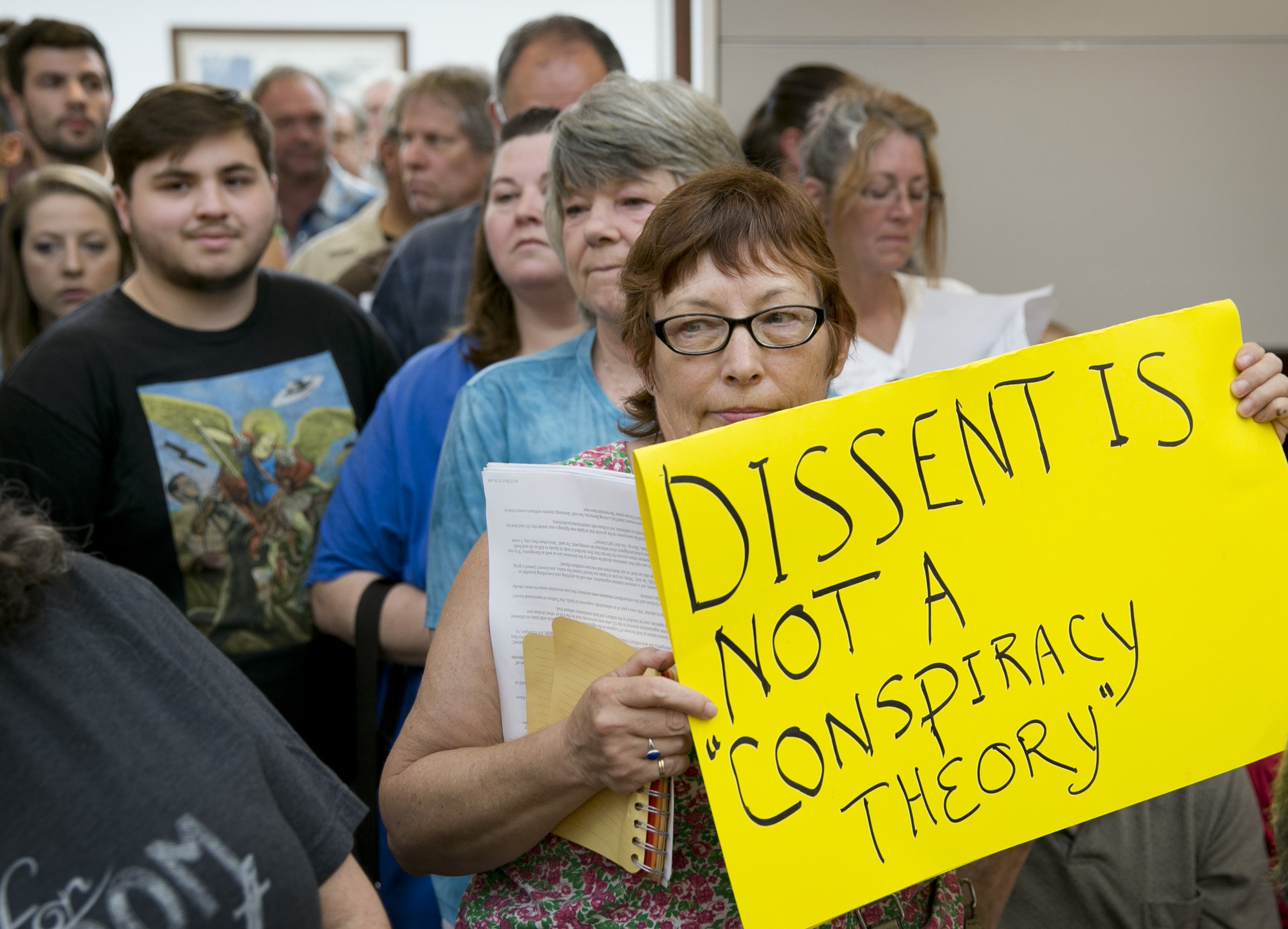 Citizen discontent over Jade Helm.