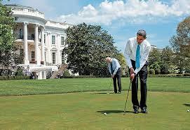 golf obama