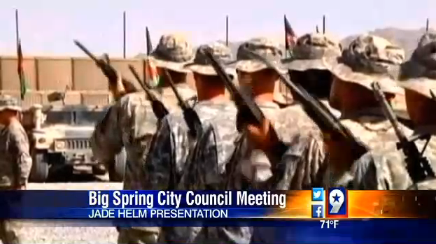 Viewers of this news report were encouraged  to report anything unusual to the authorites. Jade Helm Special Forces are testing their infiltration techniques.