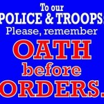 oath before orders